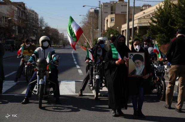راهپیمایی متفاوت؛ حضور حماسی مردم فارس در راهپیمایی ۲۲ بهمن ماه + تصاویر