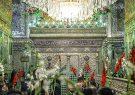 حرم مطهر شاهچراغ شادمان در روز ولادت امام علی (ع)