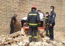 نوجوان شیرازی ، قربانی تخریب غیر اصولی دیوار