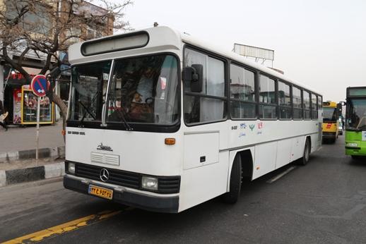 خدمات اتوبوسرانی شیراز به حالت عادی بازگشت