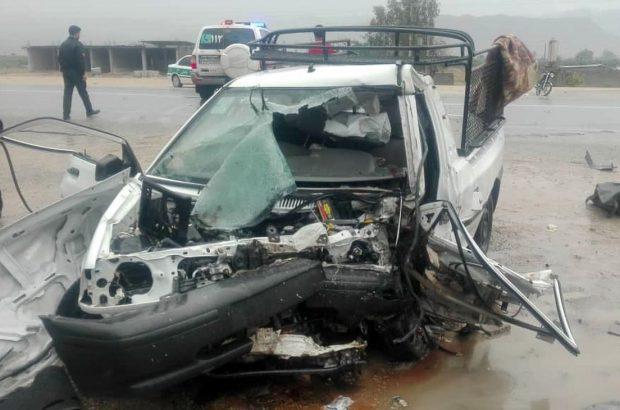 ۵ کشته و ۱۳ مجروح در تصادفات جاده ای در فارس