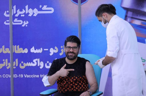 حامد همایون: من داوطلب واکسن ایرانی برکت شدم و حالم کاملا خوب است