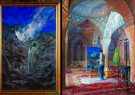 فیلم/ تایملپس رویداد اجرای زنده نقاشی توسط استاد حسن روح الامین در مسجد نصیر الملک شیراز