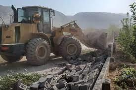 رفع تصرف از ۲۰۰ هزار متر از اراضی ملی در سیاخ دارنگون شیراز
