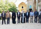 اعضای منتخب شورای ششم اسلامی شهر شیراز با آیت الله علی اکبر کلانتری نماینده مردم فارس در مجلس خبرگان رهبری دیدار کردند