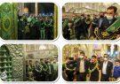 تشرف قهرمان کشتی فرنگی جهان به حرم مطهر حضرت شاهچراغ علیه السلام